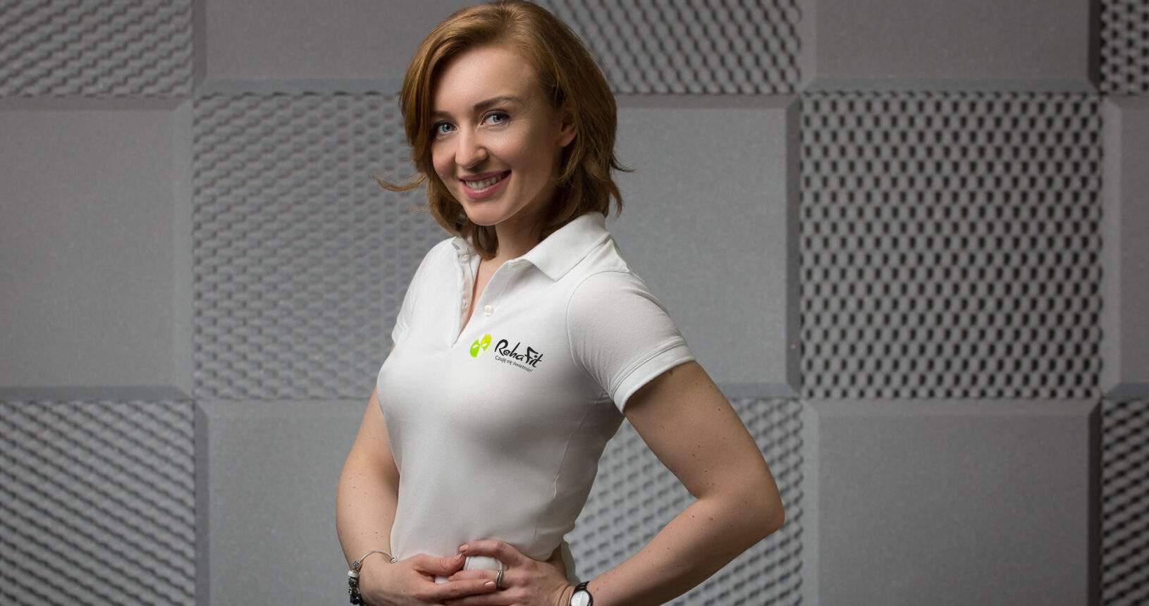 Właścicielka, fizjoterapeutka i trener personalny Kamila Kuźniar-Kosowska z Centrum rehabilitacji, masażu i treningu personalnego RehaFit we Wrocławiu.