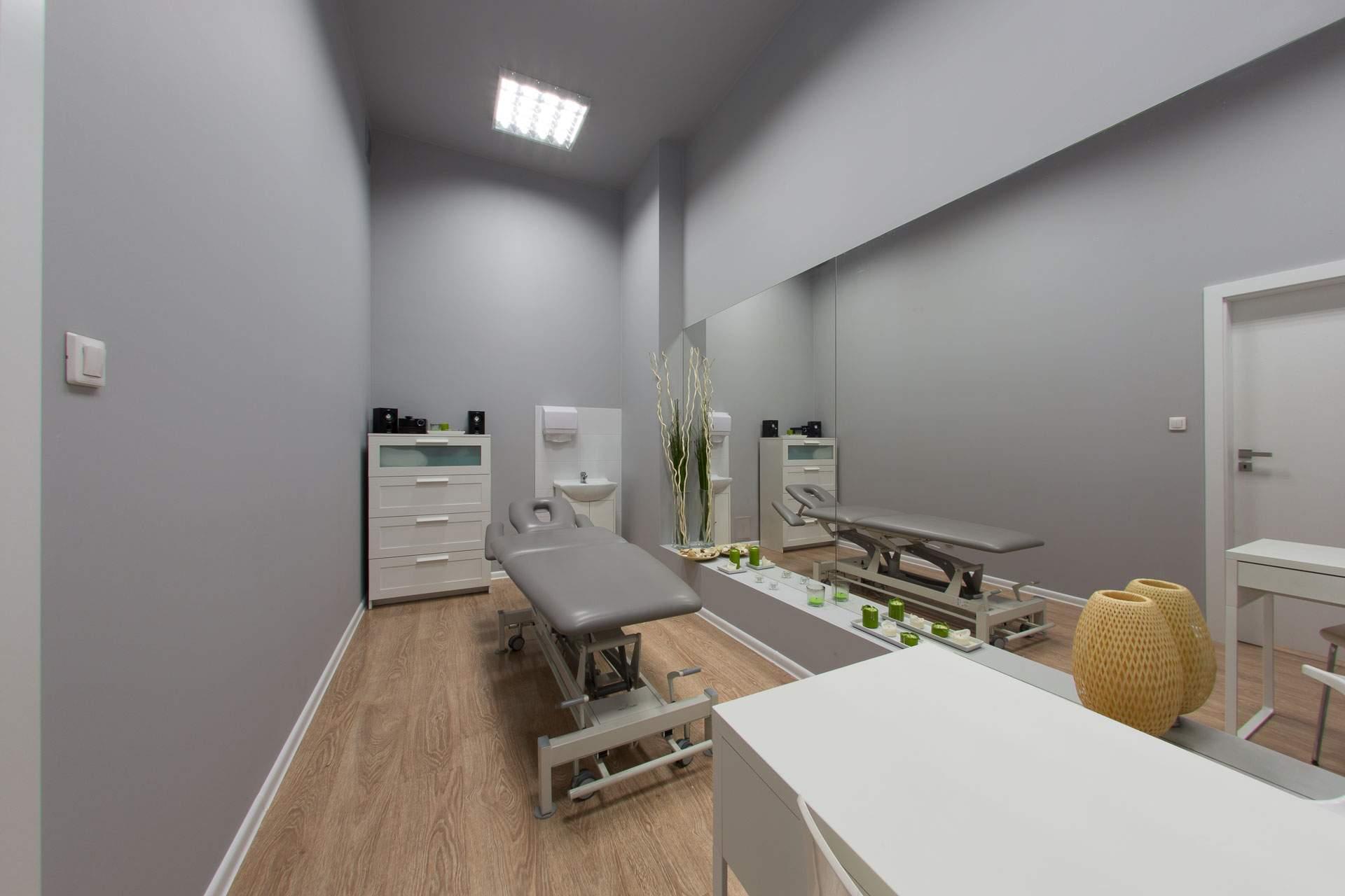 gabinet masażu i odnowy biologicznej w centrum RehaFit