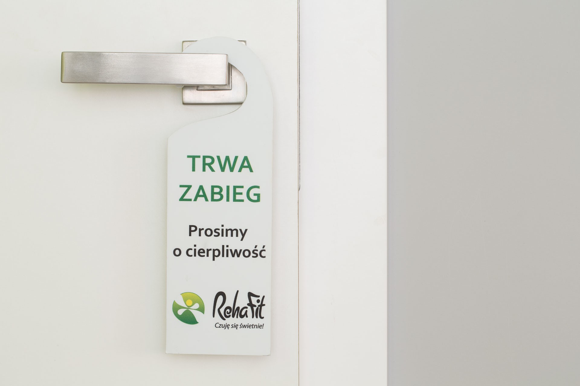 Trwa zabieg w centrum rehabilitacji RehaFit