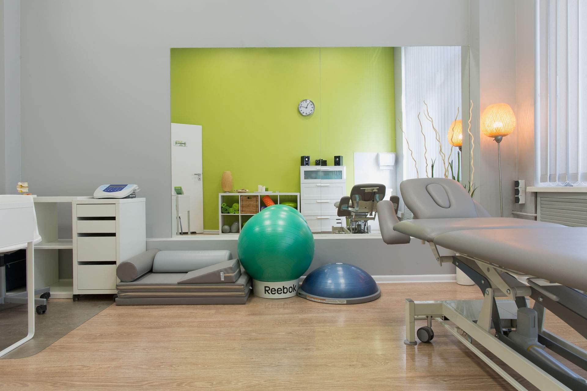 przestronność i nowoczesne wyposażenie to podstawa dobrego gabinetu rehabilitacji