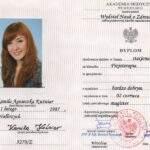 dyplom magistra, fizjoterapeutka Kamila Kuźniar-Kosowska, RehaFit Wrocław
