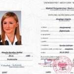 dyplom magistra, fizjoterapeuta Klaudia Hołdaś, RehaFit Wrocław