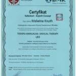 Malwina Knuth dyplom terapii manualnej kończyny dolnej