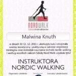 instruktow nordic walking, fizjoterapeuta Malwina Knuth, RehaFit Wrocław