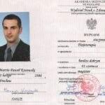 dyplom magistra, fizjoterapeuta Marcin Kosowski, RehaFit Wrocław