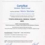 dyplom terapii mnualnej moduł AEX1, Maria Stachów, RehaFit Wrocław
