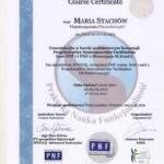 Maria Stachow certyfikat metody PNF-Basic