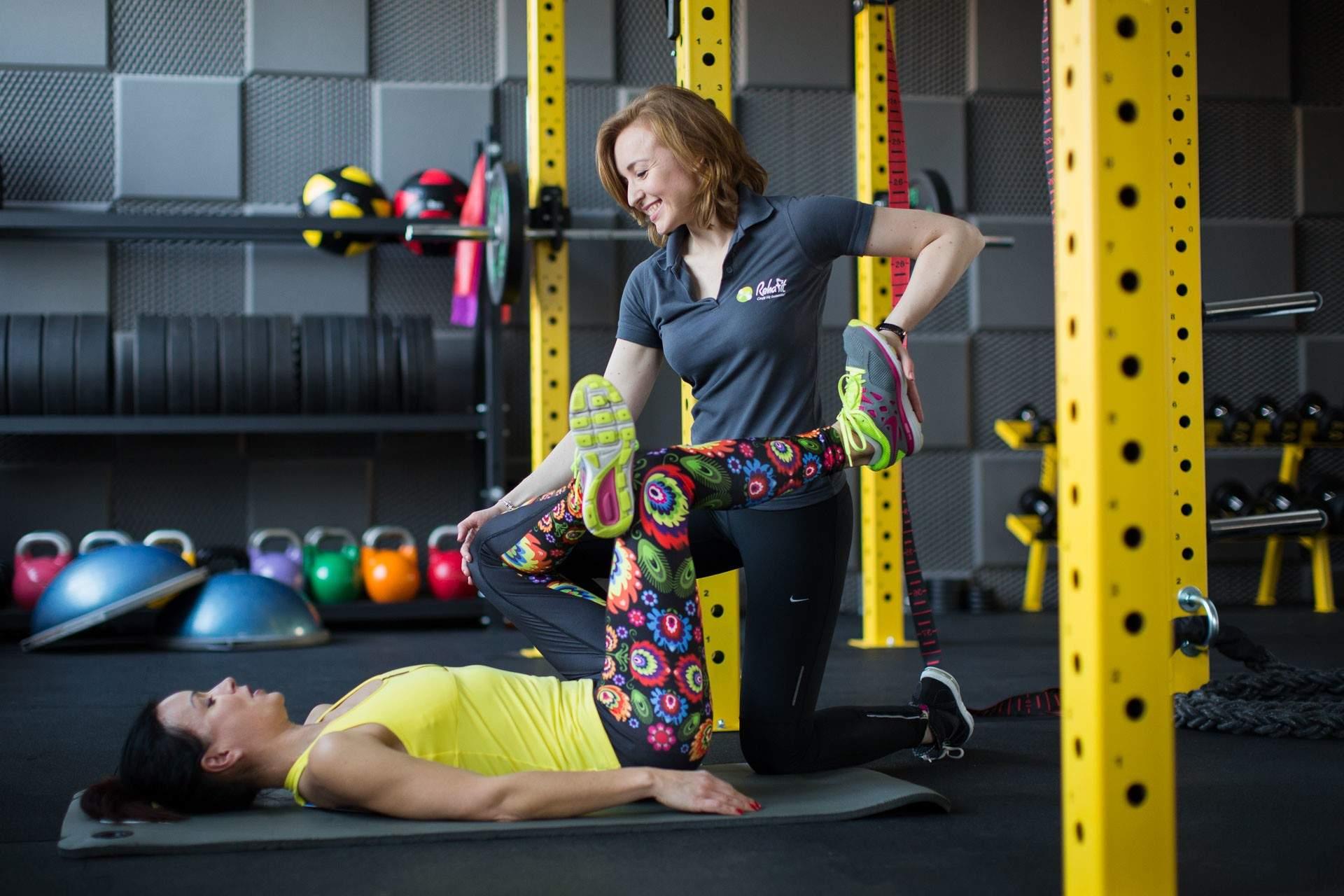 Stretching to podstawa. Wie o tym nasza trenerka personalna Kamila Kuźniar-Kosowska.