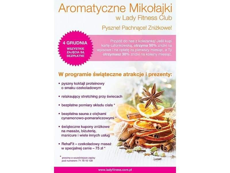 Aromatyczne Mikołajki W RehaFit. Odprężające masaże relaksacyjne w korzystnych cenach.