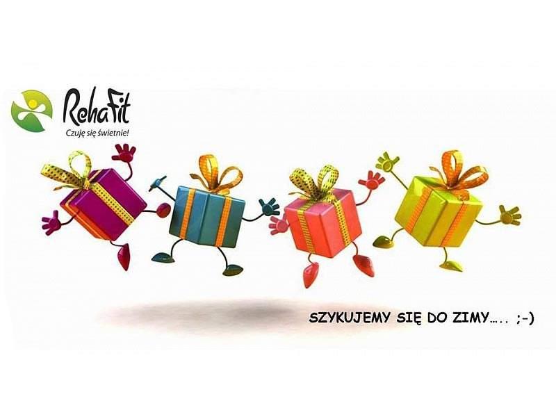 Przyjdź po prezenty do RehaFit we Wrocławiu.