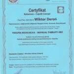 dyplom terapia manualna Wiktor Deroń 1