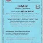 dyplom terapia manualna Wiktor Deroń 2