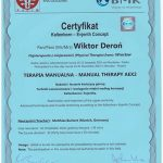 Dyplom terapia manualna Wiktor Deroń 5