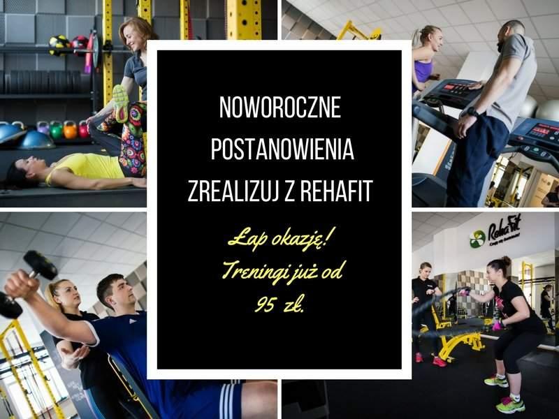 Niepowtarzalna promocja na pakiety treningów personalnych we wrocławskim centrum rehabilitacji, masażu i treningu personalnego.