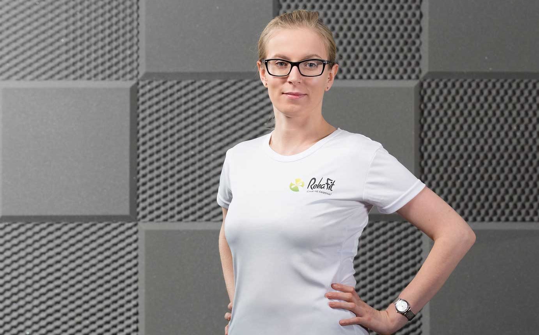 Fizjoterapeutka Anna Denkowska z RehaFit we Wrocławiu. Zajmuję się rehabilitacyjnymi wizytami domowymi.