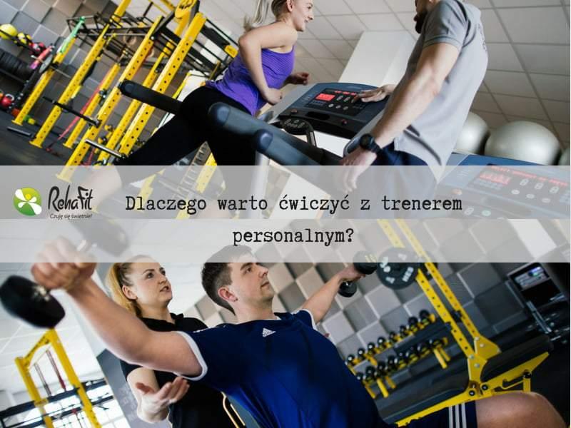 Trener personalny podczas treningu ze swoim podopiecznym. Indwidualne podejście i wsparcie na każdym kroku.