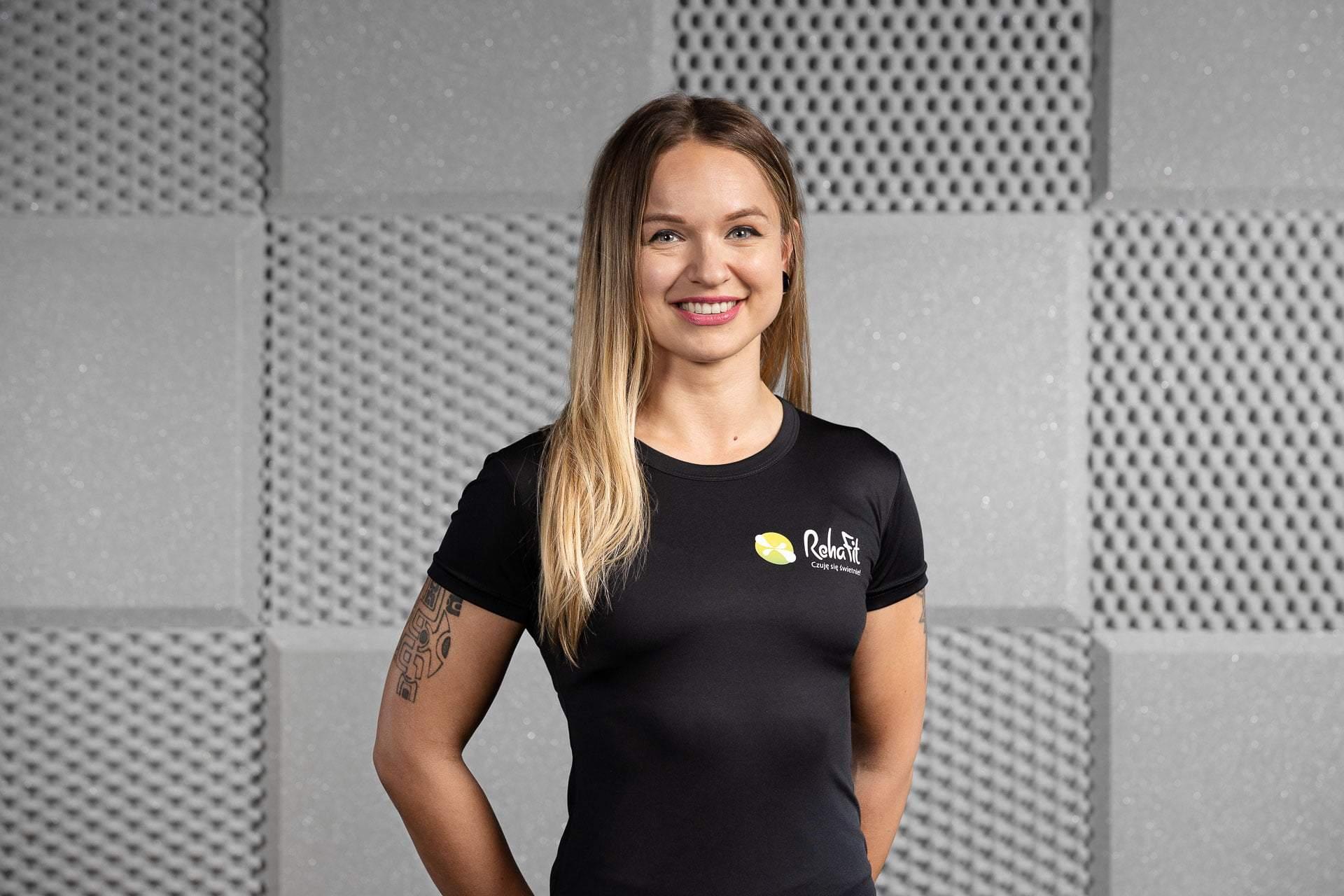 Trenerka personalna Beata Gruszczyńska z RehaFit we Wrocławiu.