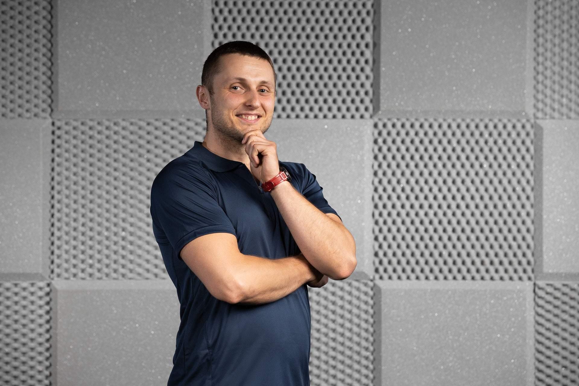 Trener personalny i doraca żywieniowy Michał Jasiński RehaFit Wrocław