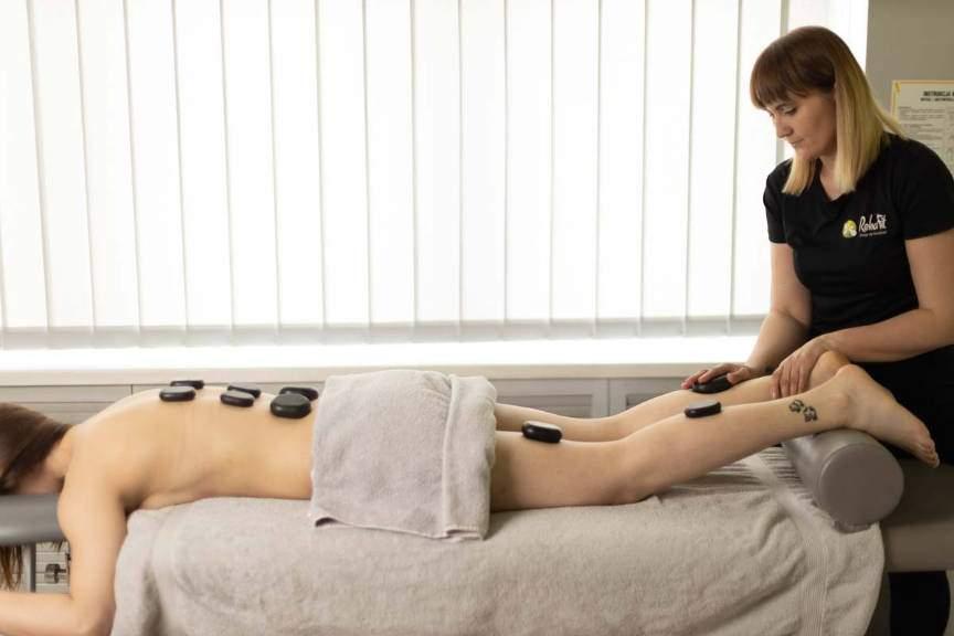 Oferta, masaż gorącymi kamieniami - Rehafit.org